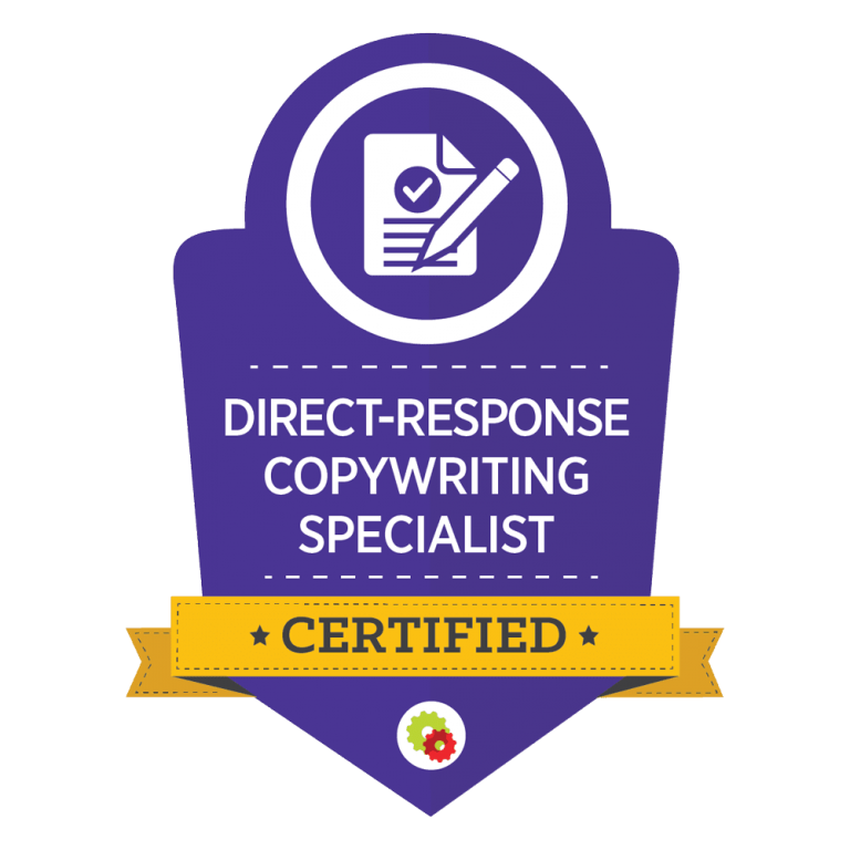 direct response copywriting certification for the best ROI on marketing messages